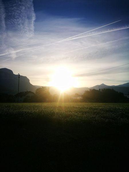 No People Beauty In Nature Landscape Scenics Sunrise Tranquil Scene Savoie