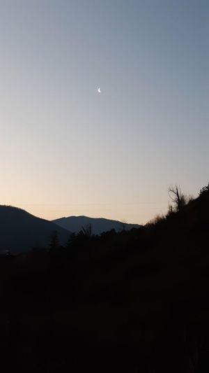 Seher vakti, İlimbey, Geyve, Sakarya Ilimbey Geyve Sakarya Ay Hilal  Astronomy Space Tree Moon Star - Space Mountain Crescent Silhouette Galaxy Sky Half Moon Planetary Moon Moonlight