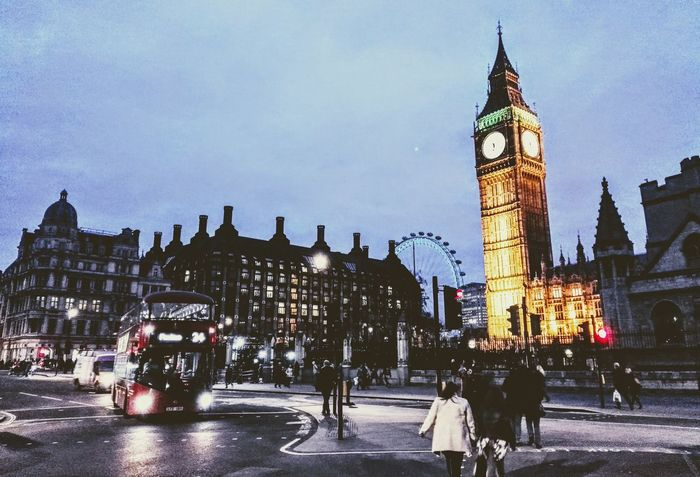 Architecture Cathedral Nightphotography Street Photography Built Structure London Bus LONDON❤ London Architecture Bigben Londonstreets London Streets London