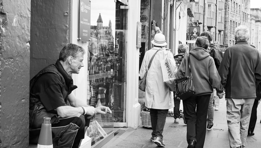 street photography in Europe Break Black And White Streetphotography Street Photography Architecture City Men Real People Group Of People Lifestyles People Street Day Adult Casual Clothing Three Quarter Length Males  City Life Walking Women Leisure Activity Clothing The Street Photographer - 2019 EyeEm Awards