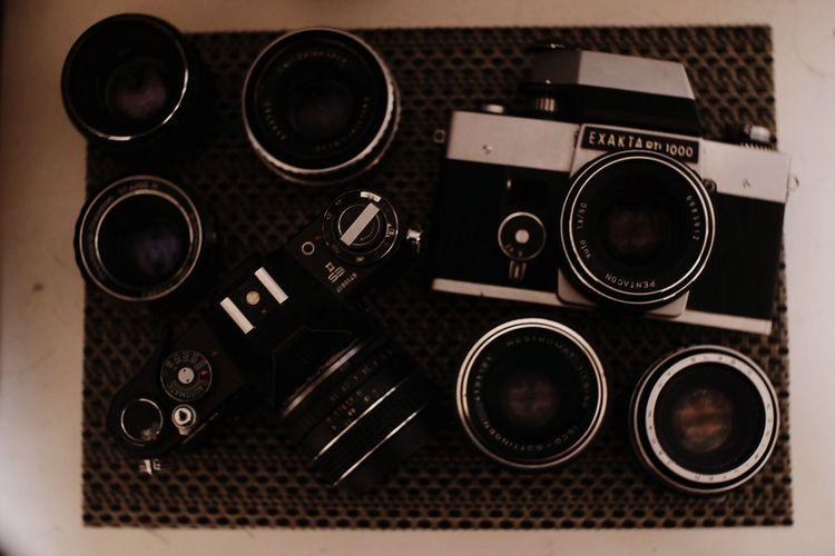 My dusty eyes Antique Camera Vintage Lenses Carl Zeiss Jena Pentax Isco-Göttingen Meyer-Optik-Görlitz Tomioka