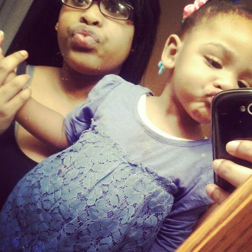 mhe & my bby cussin ♥