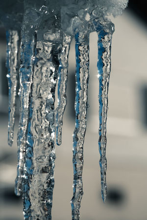 Close-up Cold Temperature Frozen Frozen Water Ice Nature Outdoors Stalagtites Water Winter