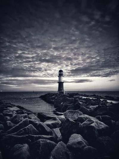 Lighthouse Sea