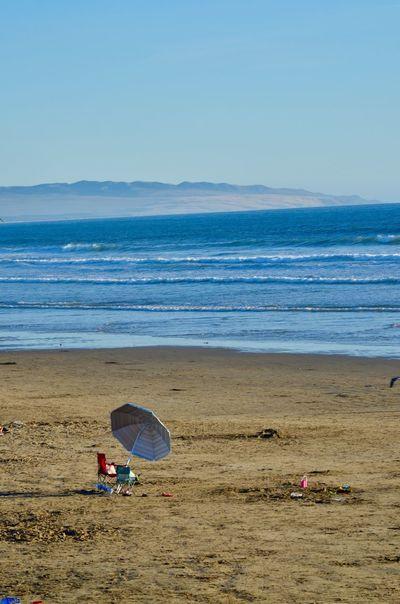 Pismo Beach, Ca. in March 1002