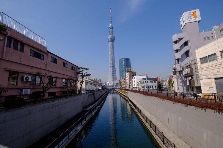 FUJIFILM X-T2 Japan Japan Photography Reflection Riverside Sky And Clouds Tokyo Tokyo,Japan Fujifilm Fujifilm_xseries River Sky Skyscraper Skytree Tower X-t2 スカイツリー 晴空塔 東京 東京スカイツリー
