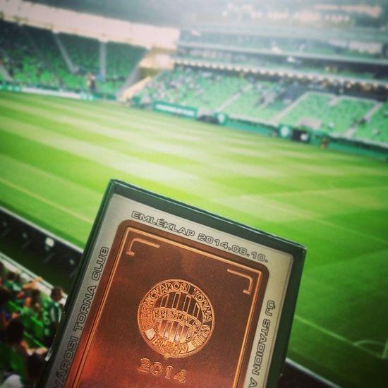 Stadionavató Ferencváros FTC  Ftcchelsea Hajrafradi Newstadium Firstmatch Soccer Zöldfehér