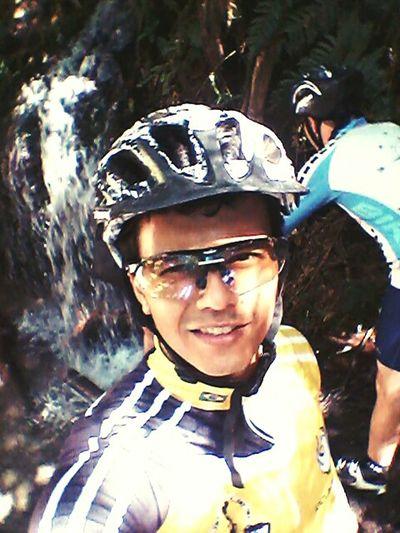 MTB Biking Selfie eu amo mtb