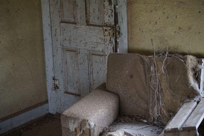 Abandoned Chair Forgotten Run-down