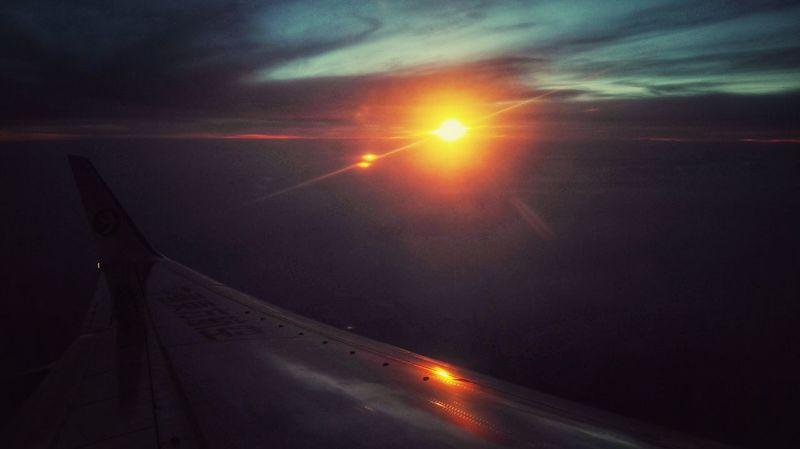 OnThePlane✈ Sunset