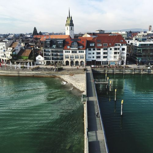 Friedrichshafen vom Eisenturm aus fotografiert am Bodensee Friedrichshafen Bodensee Building Exterior Built Structure Architecture Water City Building Sky Transportation Nature Waterfront Cloud - Sky Day Tower Residential District Travel Nautical Vessel River Travel Destinations