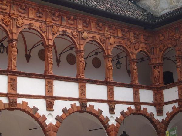 Architecture Balustrade Holz Jagdschloss Mittelalter Day Herrenhaus No People