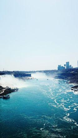Niagara Falls U.S. - Canada Border