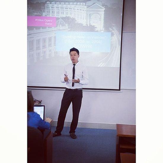 22/8/2013 Lại chém. Thesis Defense Fpt University me presentation