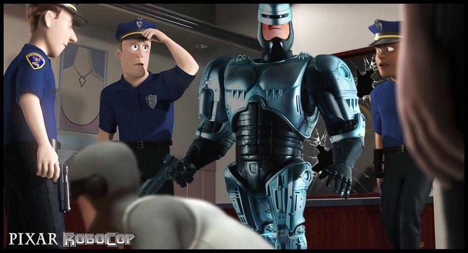 Pixarporn Marvel Comics Robocop