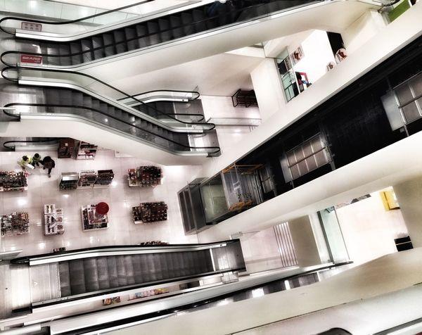 Escaleras y escaleras ... Escaleras Centrocomercial
