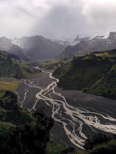 Landscape Mountain Beauty In Nature Outdoors Power In Nature Canon EOS 5D MkII Canonphotography Trekking In Iceland Iceland EyeEmNewHere Island Eos5dmarkii Hiking Laugavegur þorsmörk Thorsmork Landmannalaugar Scenics Travel Destinations Mountain Range Eos5d