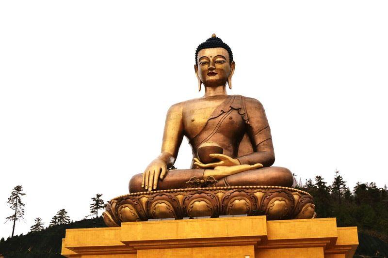 Lord Buddha statue Bhutan
