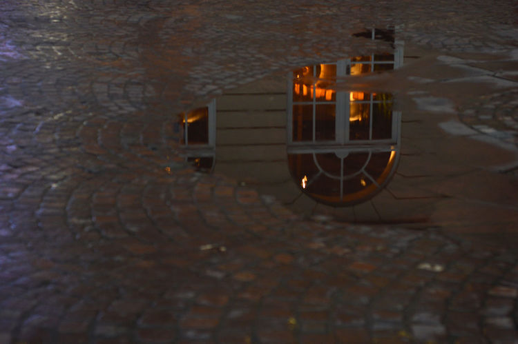 Evening Light Hail Stones Streets Mirror Effect Mirror Like Water No People Reflection In Water Street Window My Best Photo 2015