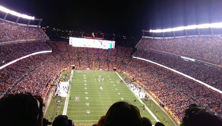 Broncos vs. Raiders last year can't wait for this season to start. 😆 First Eyeem Photo
