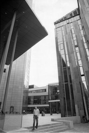 Leipzig Analogue Photography Blackandwhite Streetphotography
