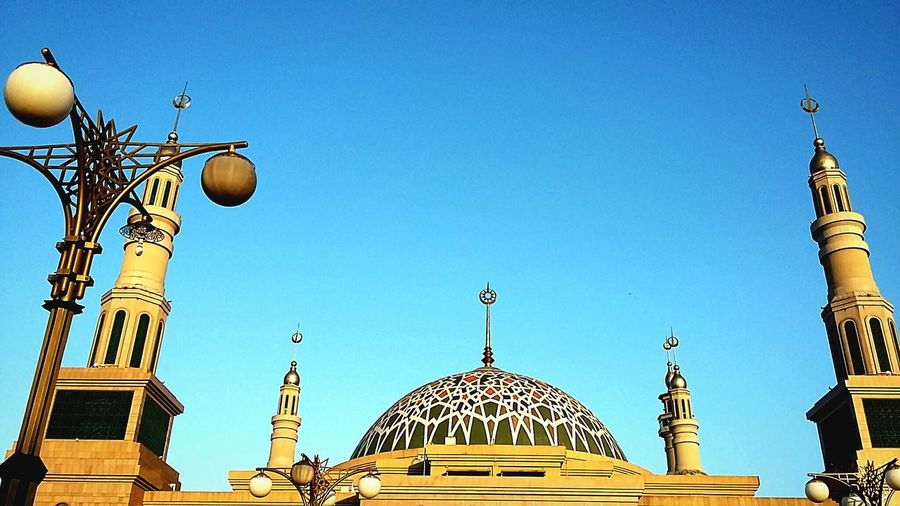 EyeEm Indonesia Architecture Streetphotography Clear Sky Islamic Centre Samarinda