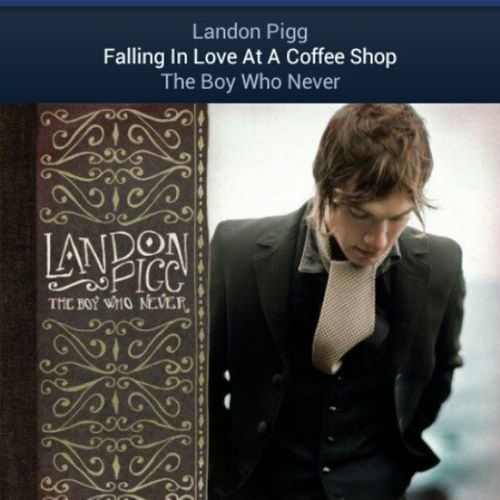 If a guy ever dedicated this song to me I don't even think I'd be capable of breathing Favoritesong LandonPigg Falkinginlove Fallingforyou fallinginloveatacoffeshop yes song love lyrics beautiful