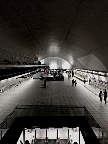 Subway IPhoneography Public Transportation