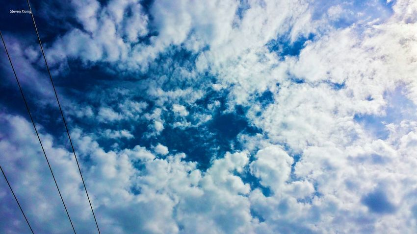 Was on the ladder, scrapping piant off the garage. I notice the clouds in the sky was forming. Look like gate of heaven was opening. Sky Collection Cloud_collection  Heavenly Sky Notes From The Underground Inspirational Heaven Clouds And Sky Sky And Clouds Getting Inspired From The Rooftop
