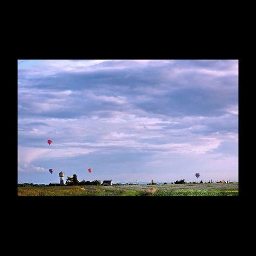 Ciel de Touraine Touraine Ballons Balloons Montgolfière  Montgolfieres Clouds EyeEm Best Shots EyeEm Masterclass Landscape Photography Landscape_Collection