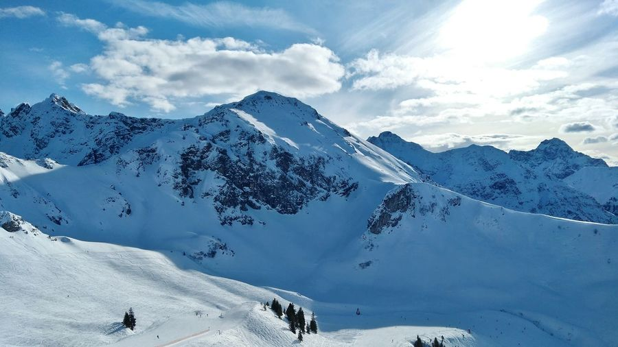 skiing in the alps! Alps Austria Gernany Fellhorn Mountain Mountain Range Midday Mountains Hills Weather Rocks Snow Mountain Snowcapped Mountain Winter Cold Temperature Mountain Range Travel Destinations Cloud - Sky Outdoors Nature Scenics Vacations Beauty In Nature Landscape Day Ski Holiday