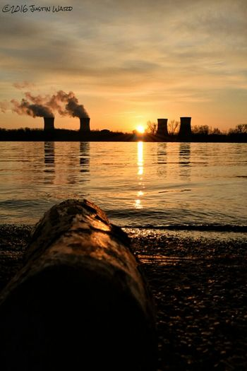 The Log had a Nice View of the Sunrise behind Three Mile Island. Sunrises Sunrise Silhouette Sunrise N Sunsets Worldwide  Sunrise Porn Sunrise_sunsets_aroundworld EyeEm Best Shots - Nature Showcase March Showcase: 2016 EyeEm Masterclass Eye Em Nature Lover Sunrise_Collection Eye Em Best Shots Nuclear Nuclear Power Plant Pennsylvania Beauty Pennsylvania Susquehannariver, The Great Outdoors With Adobe Sky_collection Skyporn My Favorite Photo