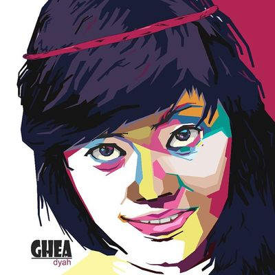 Face Colouring  Draw Wpap Art Artdaily Popart Design Gift Gheadyah By_riobhintoroo Photoshop Psd  Jpeg Image Edit Indonesian Instagram