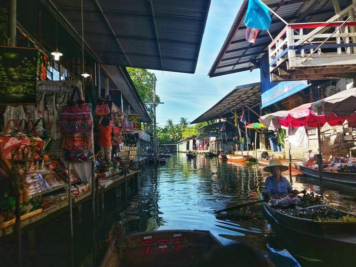Thailand ตลาดน้ำดำเนินสะดวก