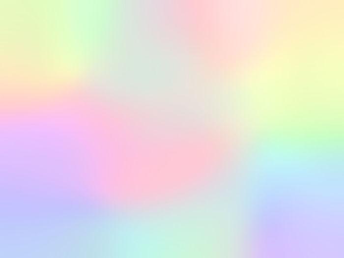 Defocused image of illuminated rainbow