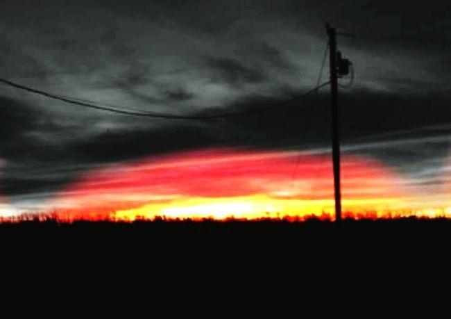 Sunset Beauty In Nature Sky Cloud - Sky Orange Color Louisiana Cellphone Photography Louisianaphotography Louisiana Sunsets Sunset_collection Sky_collection Louisiana Skies Eye Of Ky