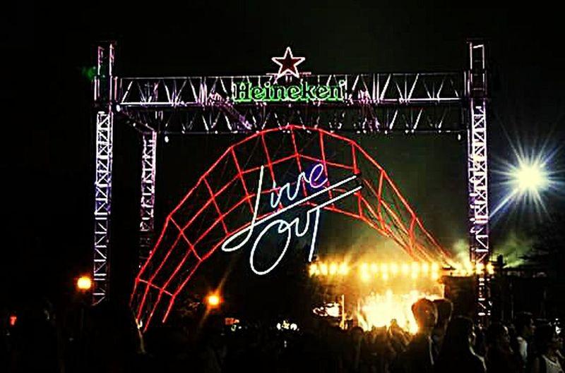 Concert Live Out Monterrey 📷🎶🎼🎤