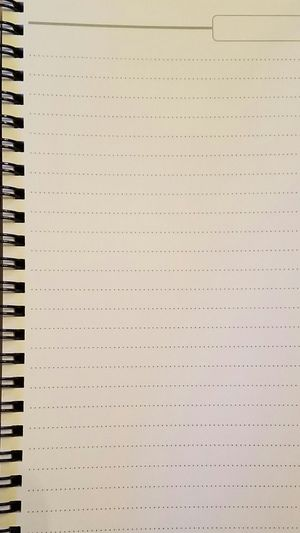 Perfect Background. Backgrounds Write Lined Notebook Spiral Lines Plain White Minimal Minimalism Paper Record Contact Contact Us Draw Sketch Empty Pages No People In A Row Writing Writer Write It Down Pattern