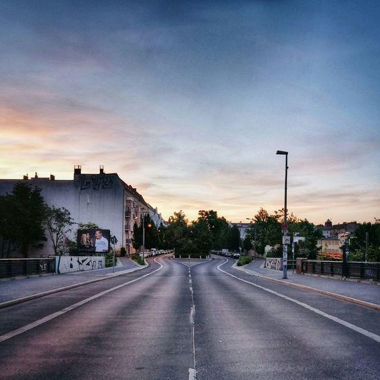 Sunrise Sonnenaufgang Prenzlauerberg