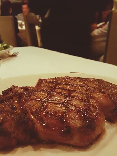 Relaxing Ribeye Steak So Big Yummy♡