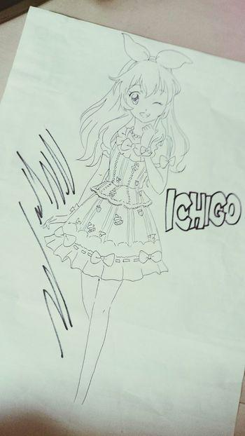 Drawing Aikatsu! Ichigo