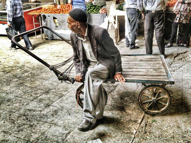Bazaar Zanjan Iran Street Photography Mobail Photo Tourist Man Mobartphotography Travel LG G4