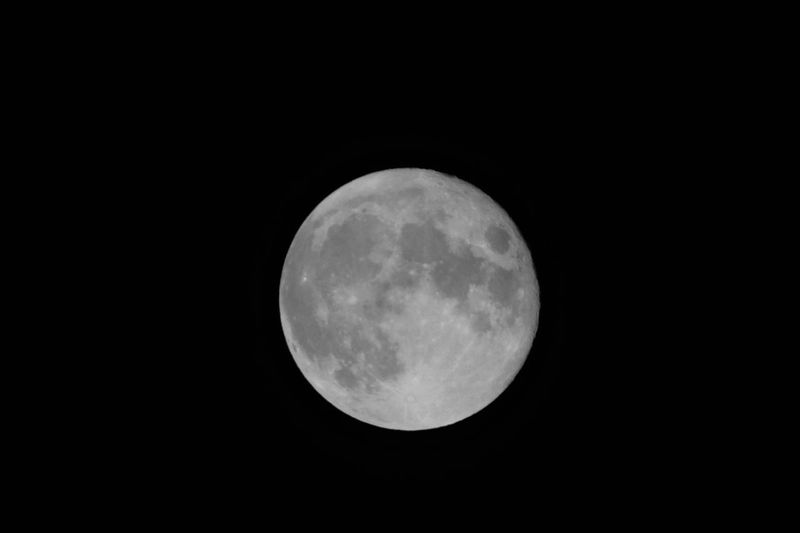 Astronomy Black Background Full Moon Moon Night No People Outdoors Space