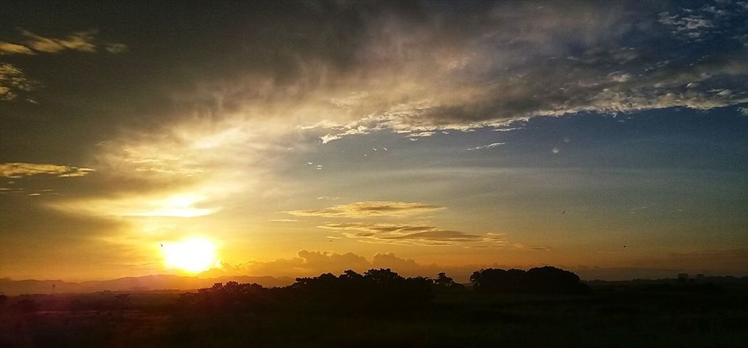 I shall return. Sunset Dramatic Sky Sun Sky Cloud - Sky Landscape Heaven And Earth Dramatic Sky Panoramic Photography On The Road Taking Photos Mobilephotography Mobilephotographyph Eyeem Philippines EyeEm Pampanga Sunset Series (Samsung J5)