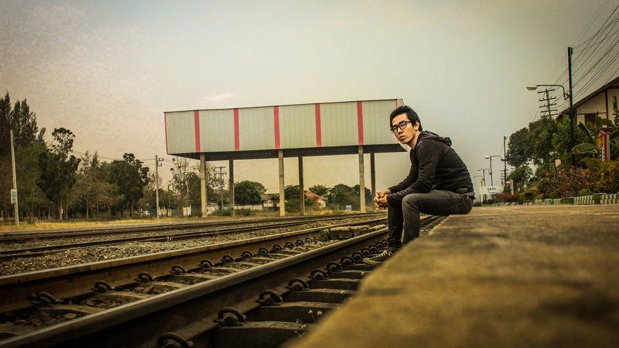 Train man Adult