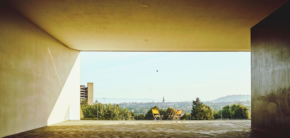 Perspectives And Dimensions EyeEm Best Shots Bern Capital Of Switzerland Ladyphotographerofthemonth Swissbeauty Morning View negative space Architecture Built Structure Sky Building Exterior Nature No People Day Sunlight Wall - Building Feature Absence