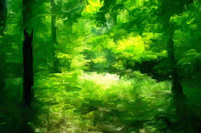 The Clearing Digital Art Digital Paint Oil Oil Painting Art ArtWork Artistic