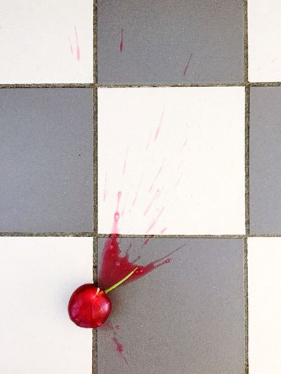 Crushed Cherry Cherry Splatter Darn Oh No Oh Well Life Goes On