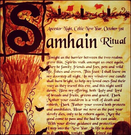 Happy Samhain everyone!