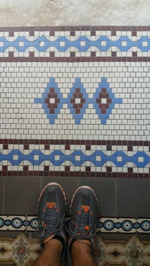Human Foot Hidràulic Rio De Janeiro Eyeem Fotos Collection⛵ Pisohidraulico Nice Day Rio De Janeiro Brasil ♥ Myfoot Whereilive Ladrilhos Mosaic Tiles Brazil Ladrillos Tiles Azulejos Ondepiso Tiled Floor Mosaic Floor Pisos Hello World Azulejo